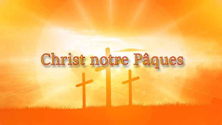 Christ notre Pâques