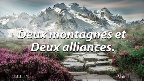 2 montagnes et 2 alliances