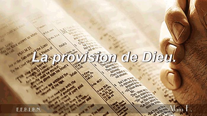 La-provision-de-Dieu