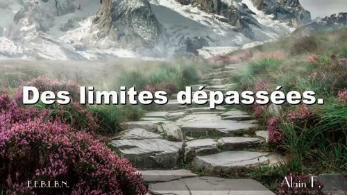 Des limites dépassées.