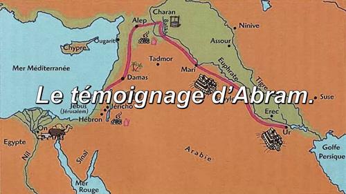 Read more about the article Le témoignage d'Abram.